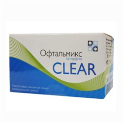 Офтальмикс Butterfly Clear (4 шт.) Базоваякривизна 8,6