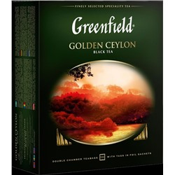 Greenfield. Golden Ceylon карт.пачка, 100 пак.