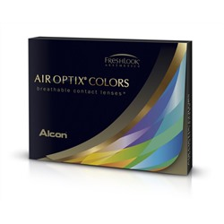 Air optix colors (2 pack) (blue, brilliant blue, gemstone green, green, sterling gray, honey)