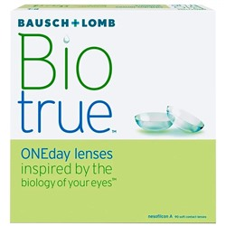 Biotrue One Day lens (90pk)