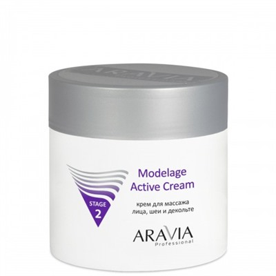 ARAVIA Professional Крем для массажа Modelage Active Cream, 300 мл