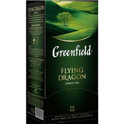 Greenfield. Flying Dragon карт.пачка, 25 пак.