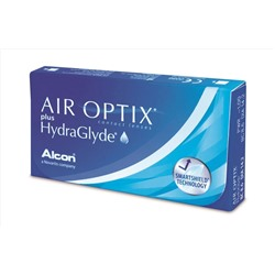 Air Optix plus HydraGlyde (6 шт.) NEW
