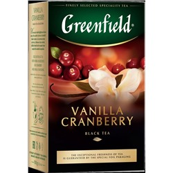Greenfield. Vanilla Cranberry 100 гр. карт.пачка